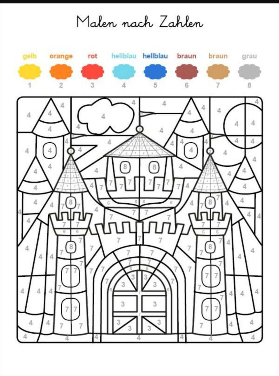 Pin By Jasna Joost On Schuki In 2020 Coloring Pages Free Coloring Pages Color By Numbers