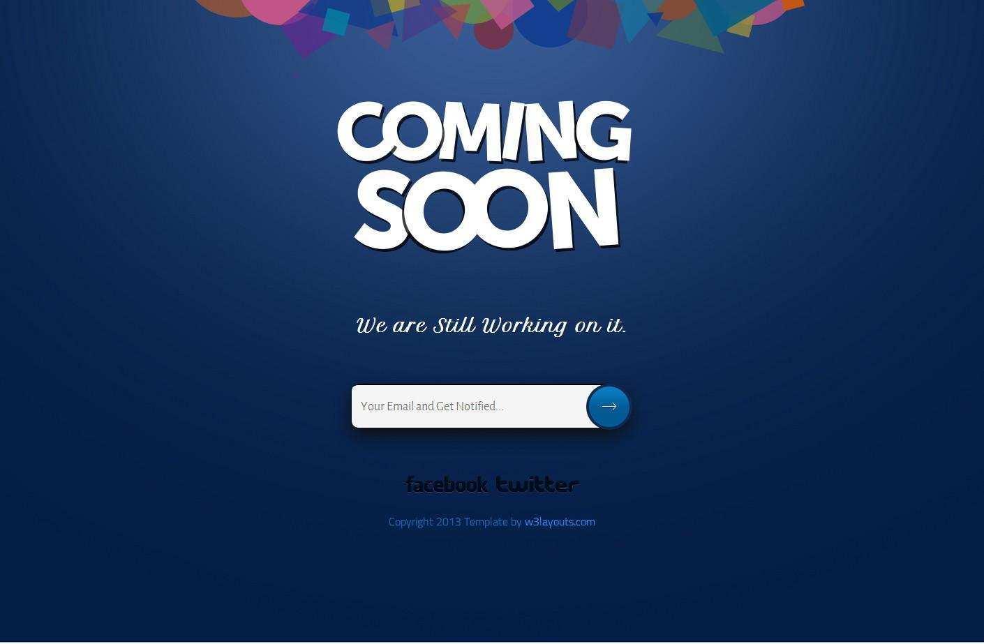 40 Free Html Coming Soon Maintenance Under Construction Website Templates Utemplates
