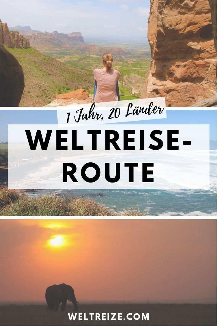 Route Fur 1 Jahr Weltreise 20 Lander 4 Kontinente