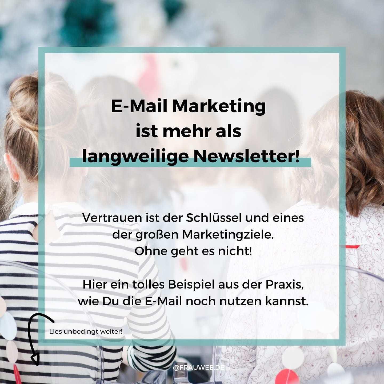 Fur Wen Ist E Mail Marketing Etwas Ohhh Ich Weiss Viele Menschen Denken Bei E Mail Marketing An Newsletter Und Nervige Werbung Dabei Kann E Mail Market I 2020