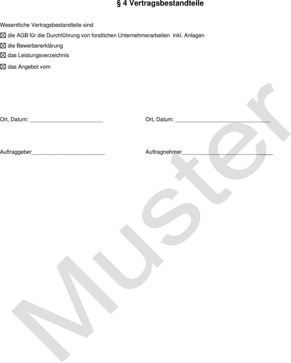 Werkvertrag Muster 1 Pdf Kostenfreier Download