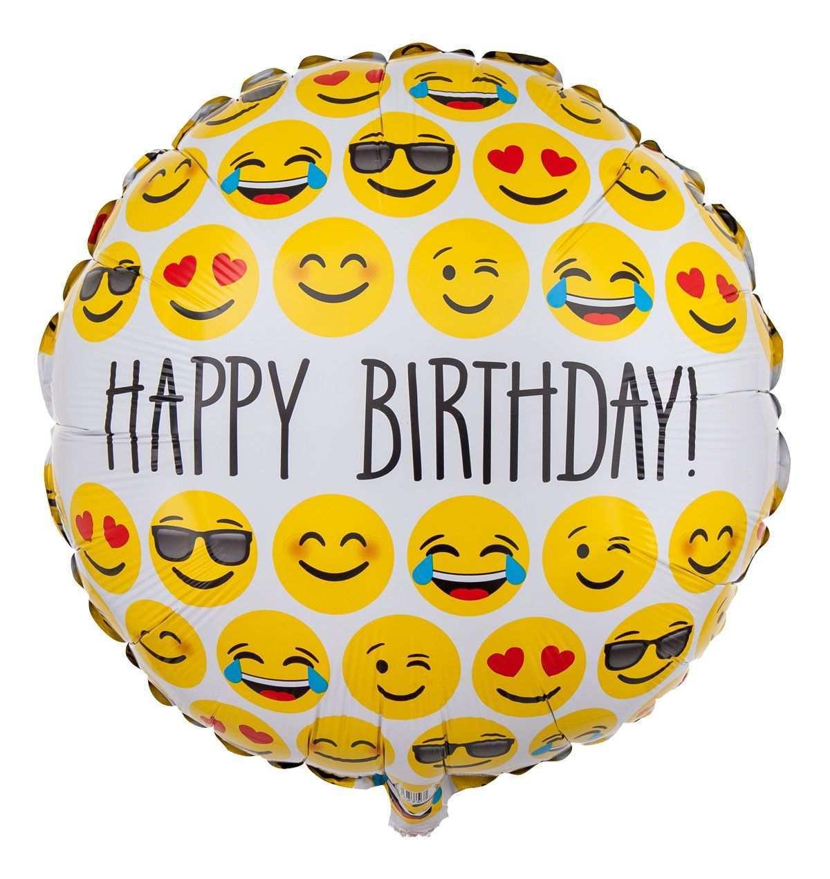 Emoji Ballon Smileys Happy Birthday Geburtstag Gratulieren Party Emoji Alles Gute Zum Geburtstag Ballons