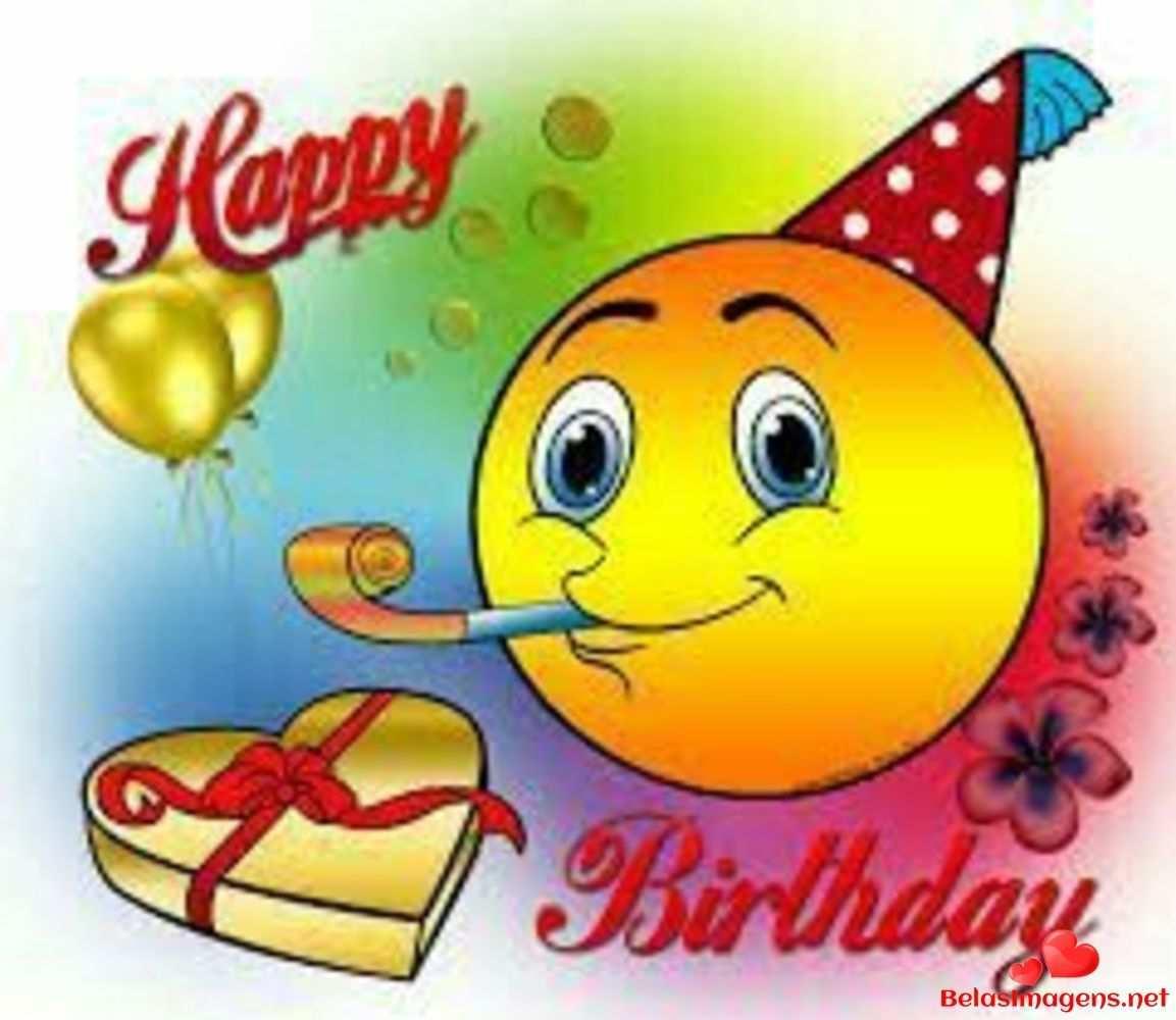 Belasimagens Net Baixe Imagens Fotos E Cartoes Postais Para Enviar No Facebook E Whatsapp Gr Birthday Emoticons Happy Birthday Emoji Happy Birthday Pictures