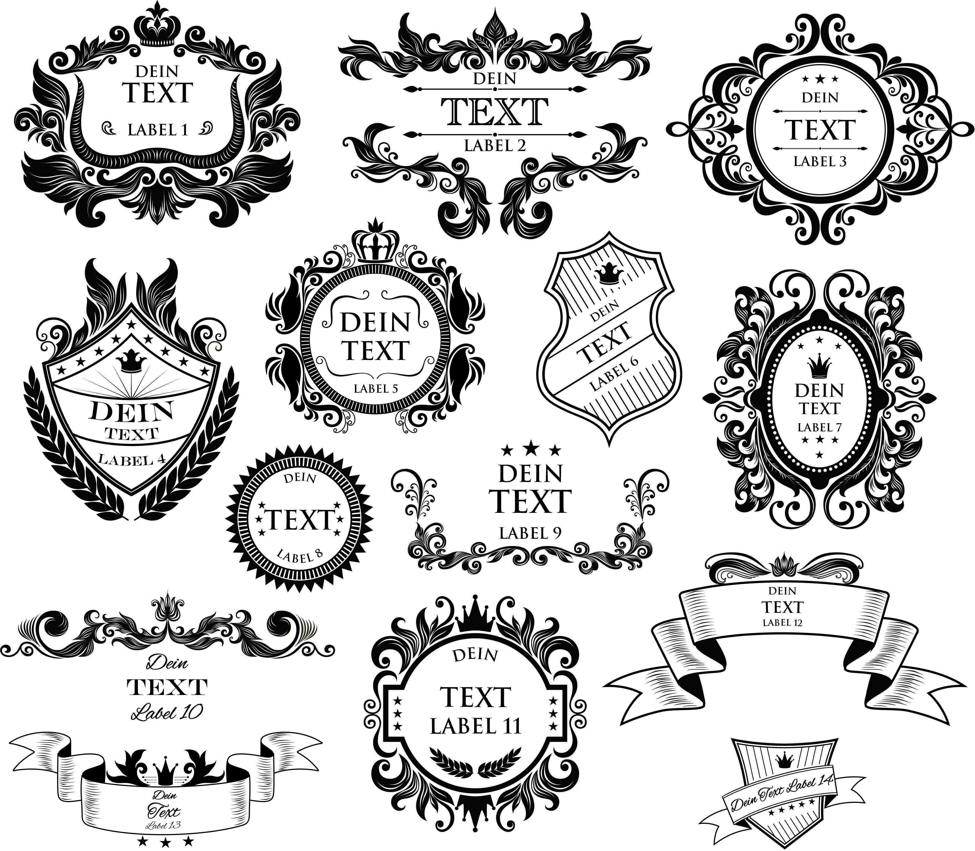 Whisky Labels Gravurvorlagen 1 Glaser Mit Gravur Gravur Geschenke Fur Manner