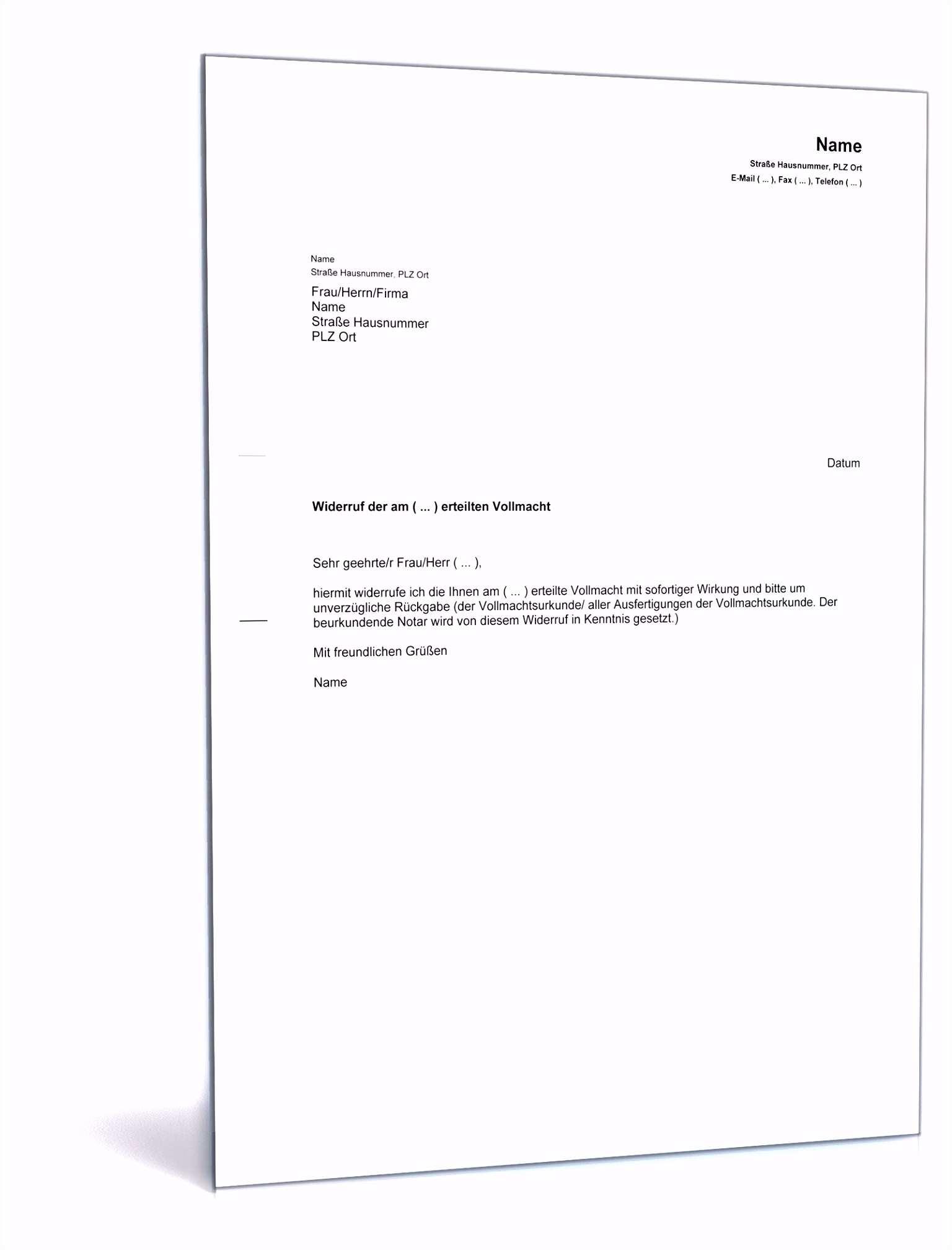 Rucktritt Kaufvertrag Kuche Finanzierung 5 Widerrufsrecht Autokauf Vorlage Sampletemplatex1234