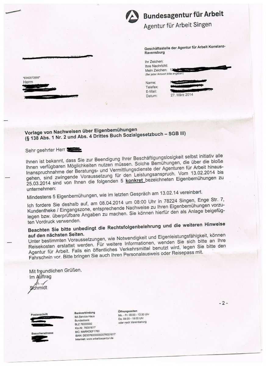 Alg 1 Sperre Trotz Erfolgreichem Widerspruch Erwerbslosenforum Deutschland