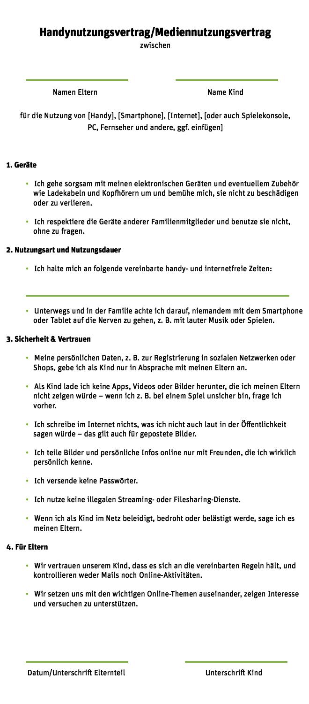 Handyregeln Fur Kinder Die Handynutzung Regeln Whatsapp Sim