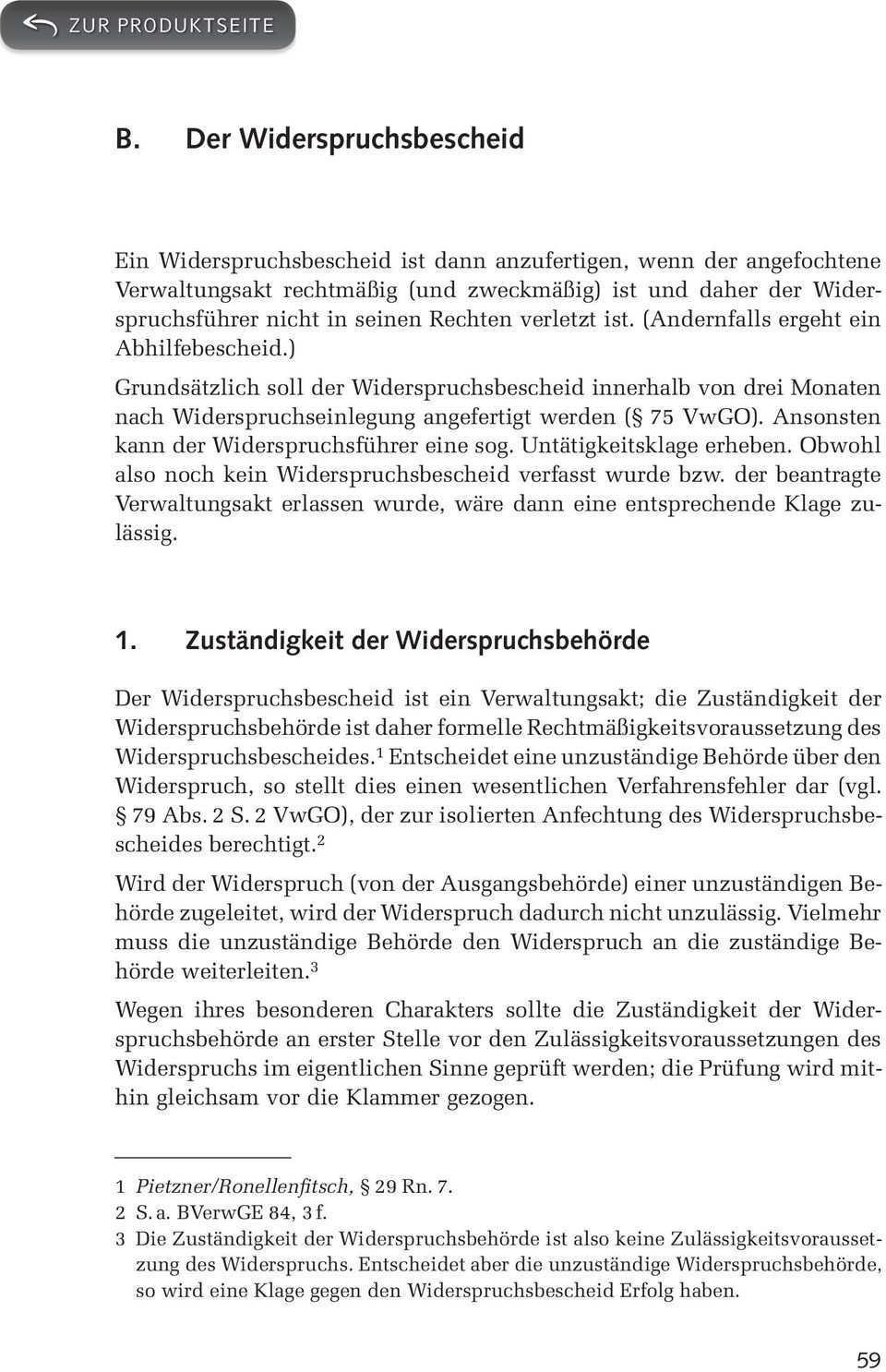 B Der Widerspruchsbescheid Pdf Kostenfreier Download