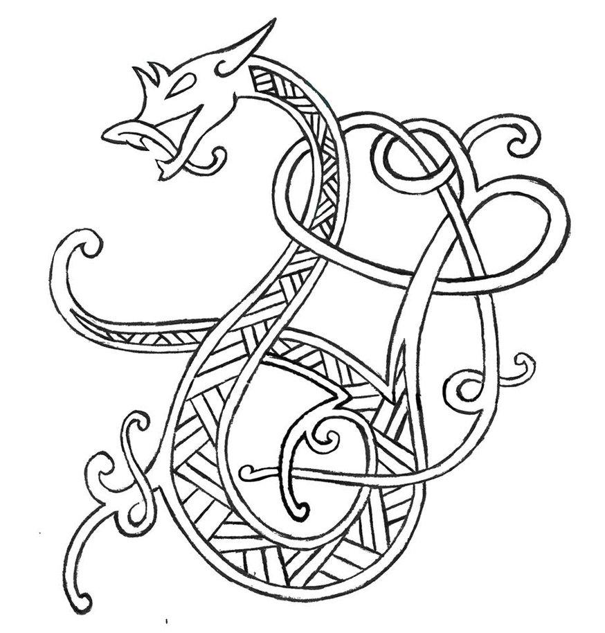 Viking Axe Drawing Viking Embroidery Celtic Art Viking Symbols