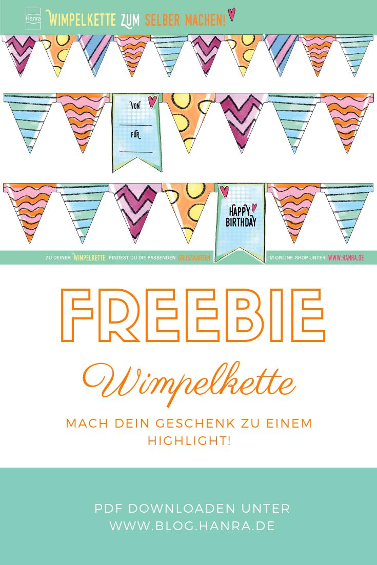 Freebie Wimpelkette Wimpelkette Bilder Zum Ausdrucken Kette