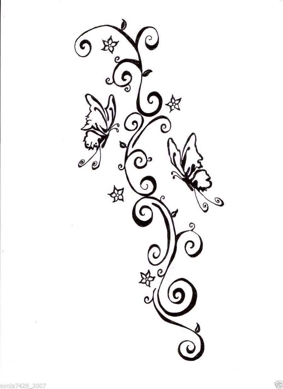 Butterfly Vinyl Graphic Decal Car Window Sticker Ebay Hippe Tattoos Widder Tattoos Tattoo Blumen Und Schmetterlinge