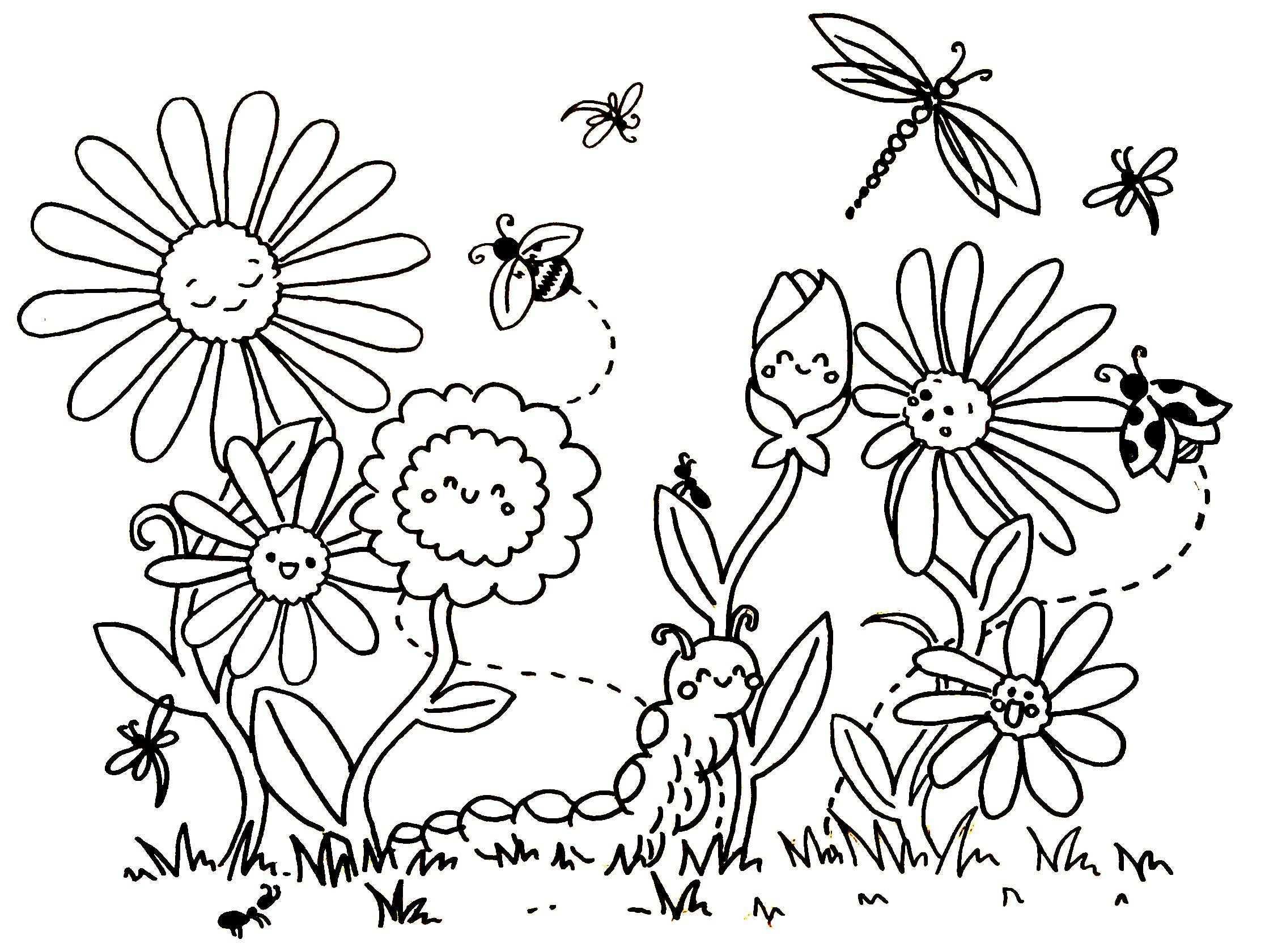 Blumen Malvorlage Windowcolor Blumen Ausmalen Ausmalbilder Ausmalbilder Fruhling