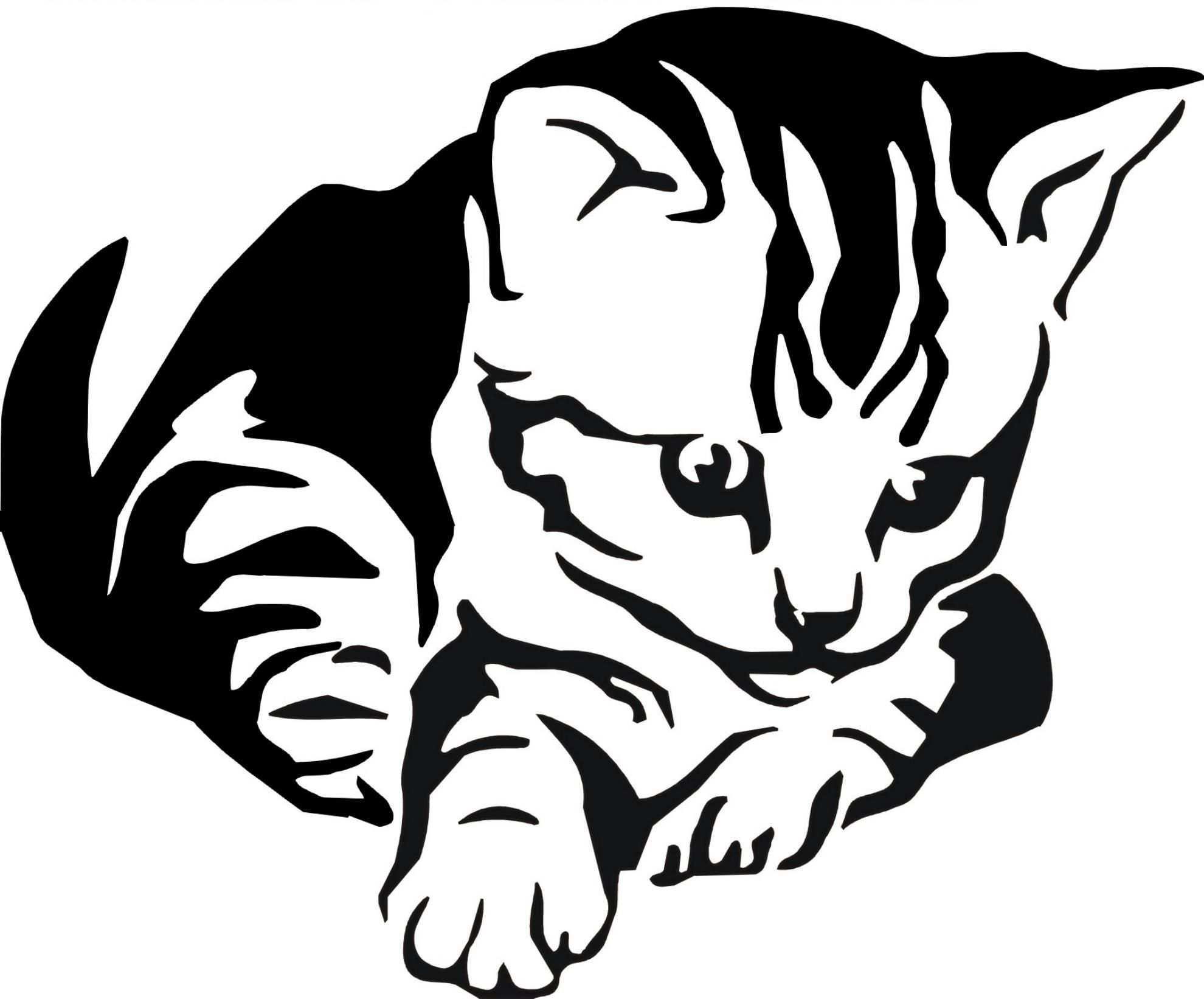Http Www Kreativ Design Online De Shop Images A5 005 20katze 201 Jpg Katzen Silhouette Tiere Malen Katzenzeichnung