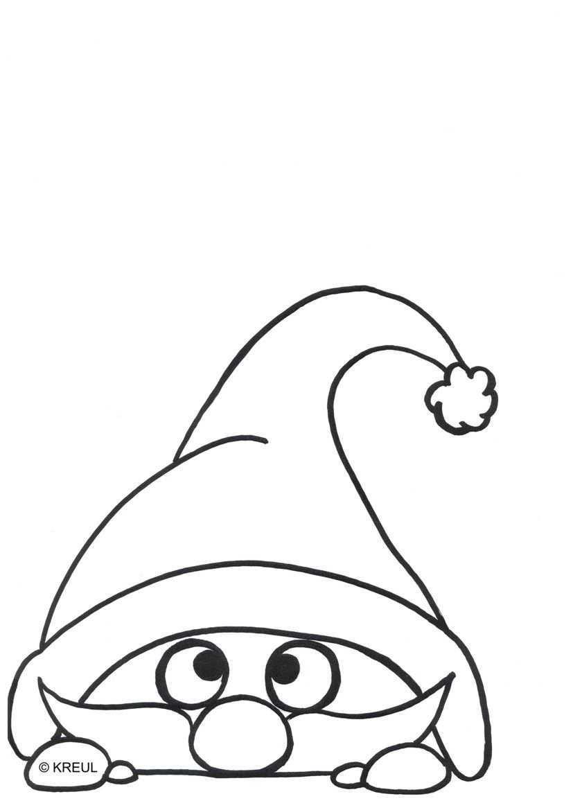 Farben Blog Weihnachtswichtel Weihnachtsmalvorlagen Adventskalender Zum Ausmalen