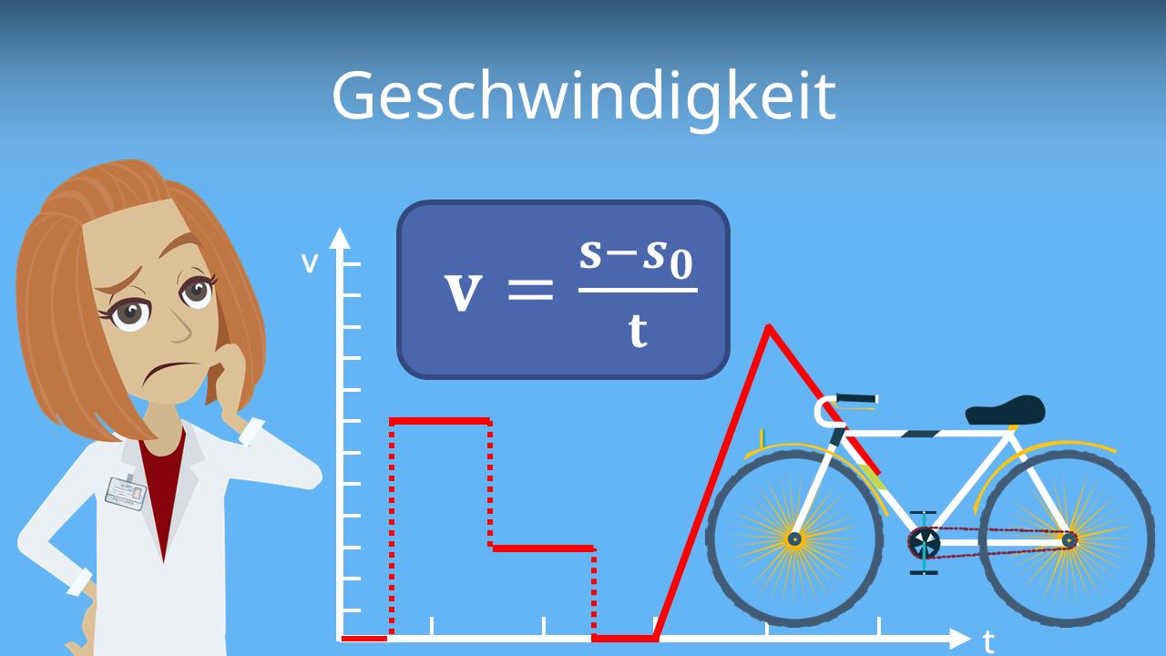 Geschwindigkeit Formel Berechnen Mit Video