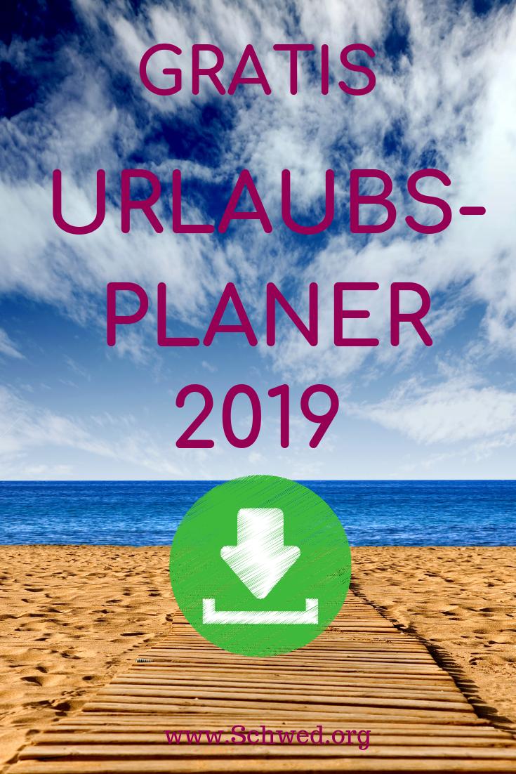 Excel Urlaubsplaner 2020 Kostenlose Vorlage Zum Download Excel Tipps Vorlagen Planer