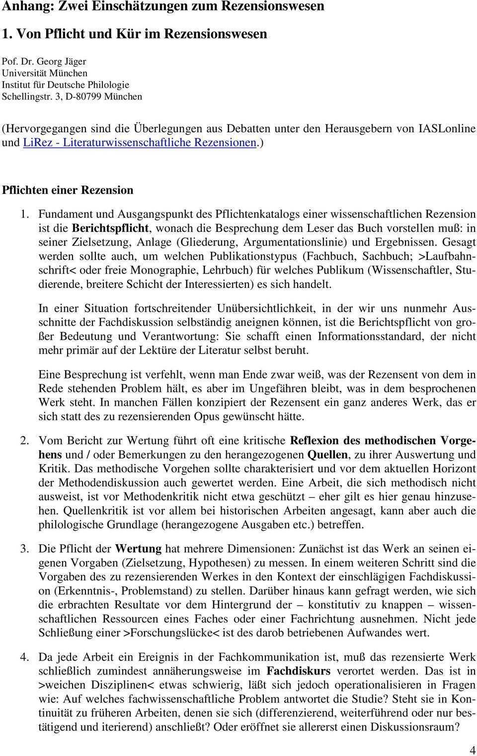 Wie Schreibt Man Rezensionen Oder Die Rezension In Wissenschaftlichen Fachzeitschriften Pdf Free Download