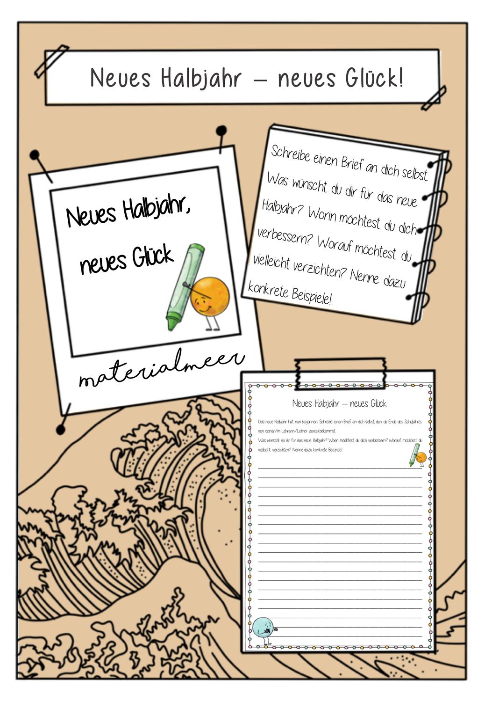Neues Halbjahr Neues Gluck Neues Schuljahr Neue Wege Ein Brief