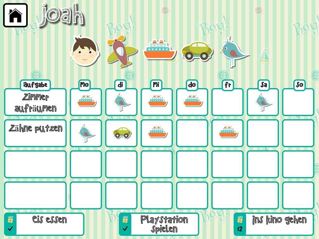 Theme Boy De Jpg 1024 768 Belohnungssystem Kinder Belohnungssystem Tagesplane Fur Kinder
