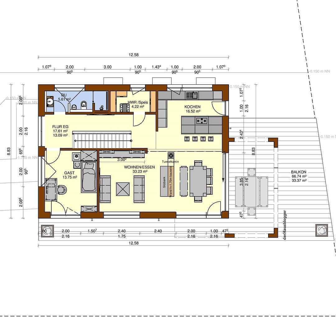 Hier Folgen Die Grundrisse Des 295 M Grossen Bodenseeblick Hauses Im Vorherigen Beitrag Hatte Ich Das Bauvorhaben Ja Sch Floor Plans Architecture How To Plan