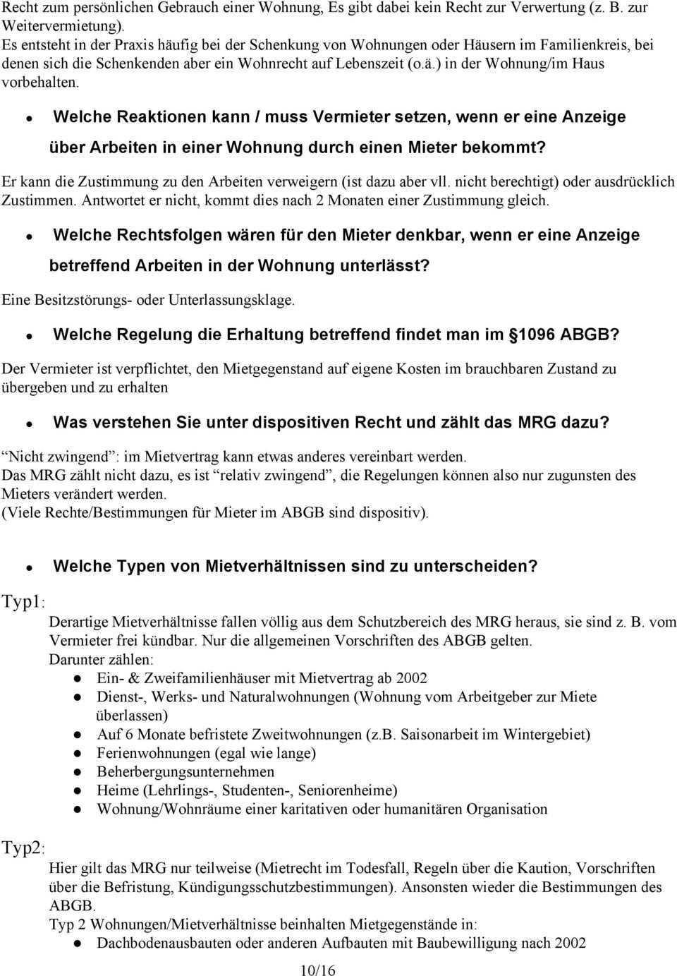 Mietverwaltung Und Grundzuge Des Mietrechts Pdf Kostenfreier Download