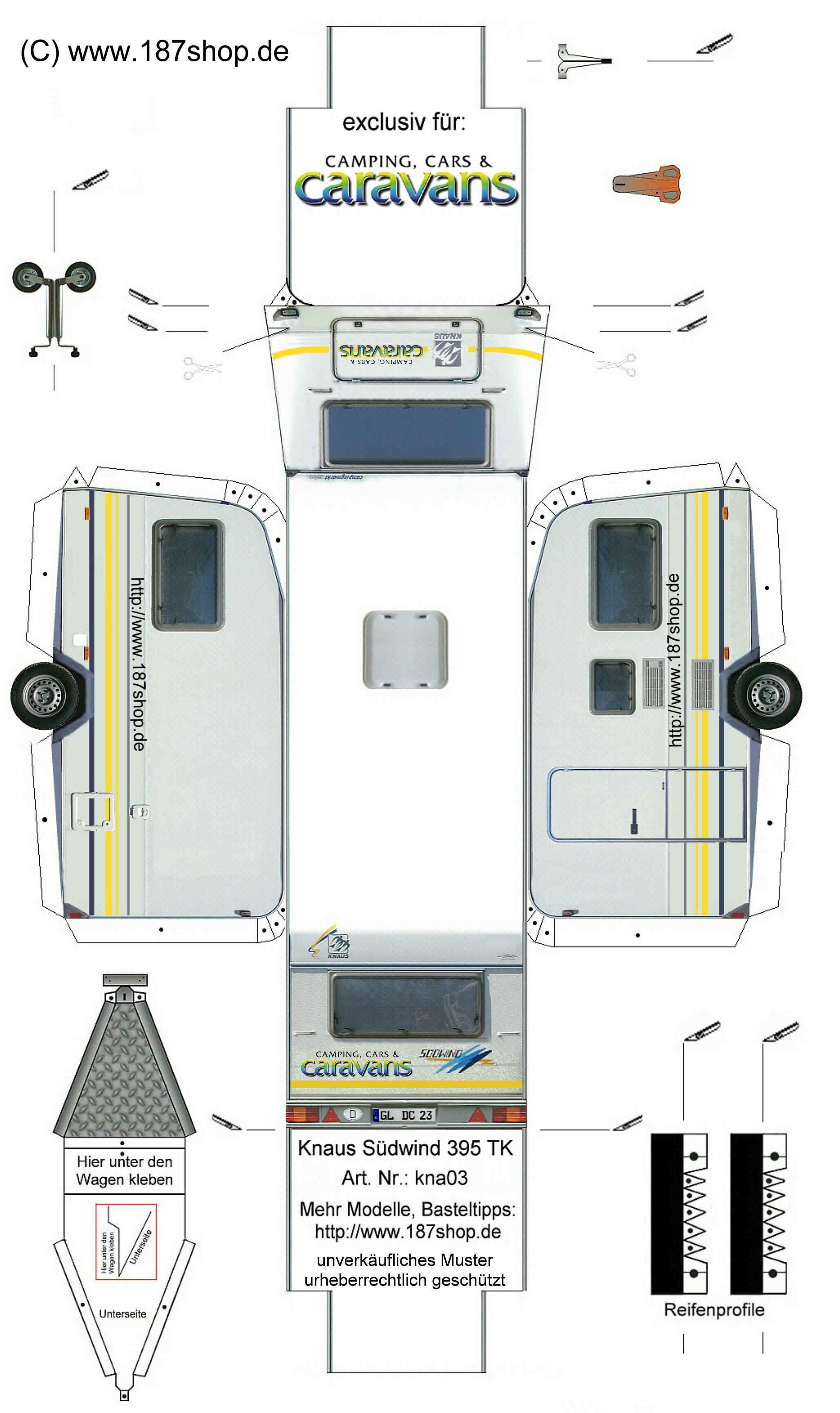 M Tdunkel S 1 87 Shop Kontaktformular Papiermodell Wohnwagen Bastelbogen