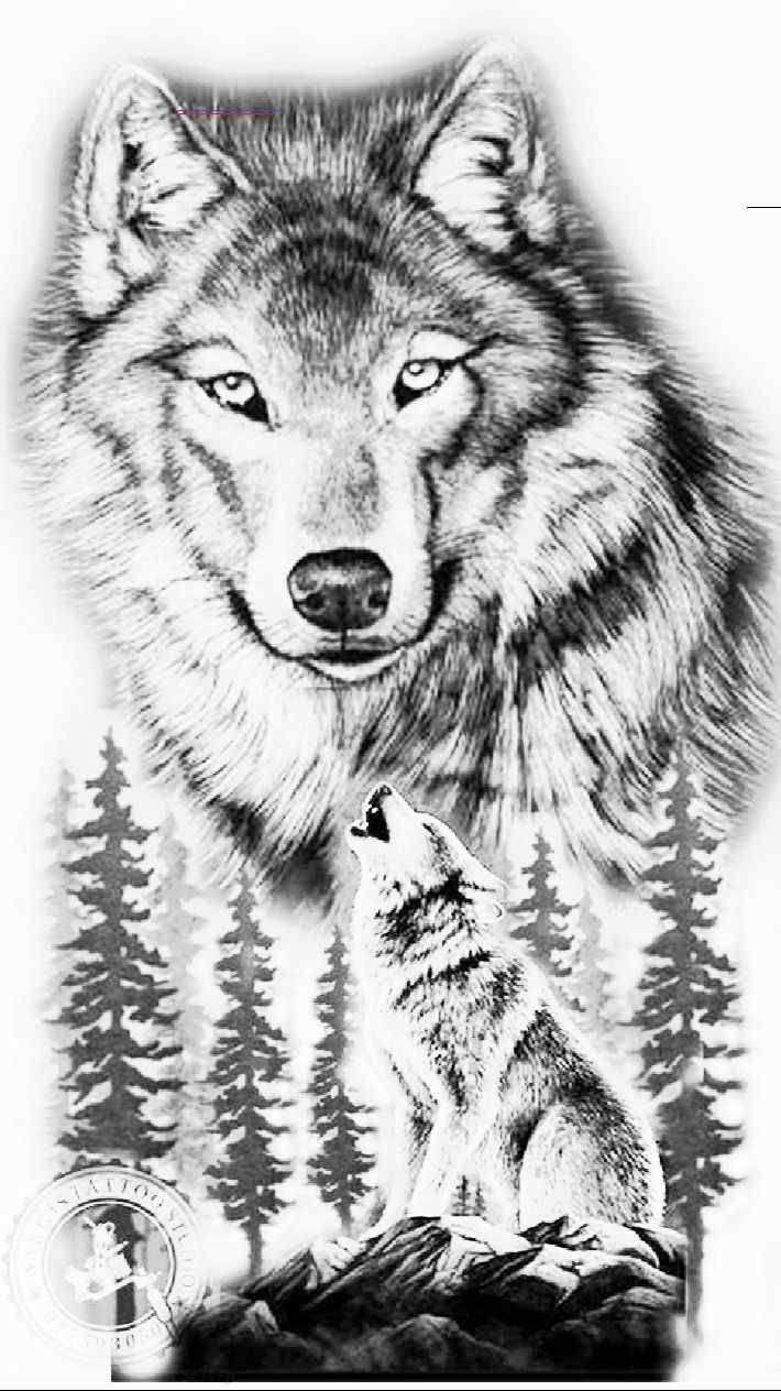 Pin By Lex Reeder On Main Wolf Tattoo Sleeve Wolf Tattoo Wolf Tattoos