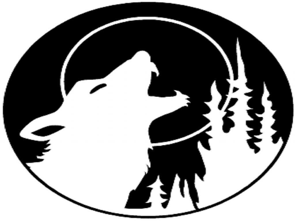 Kurbis Vorlagen Mit Wolf