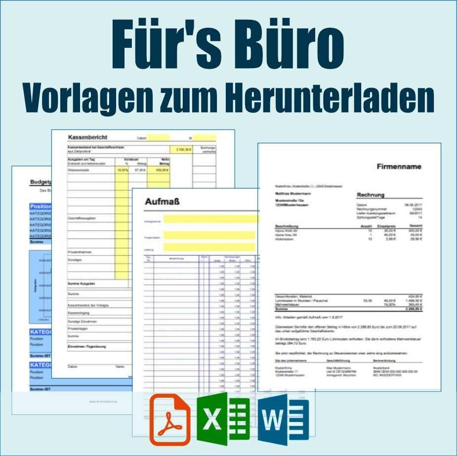 Vorlagen Fur S Buro Zum Herunterladen Excel Tipps Vorlagen Finanzen