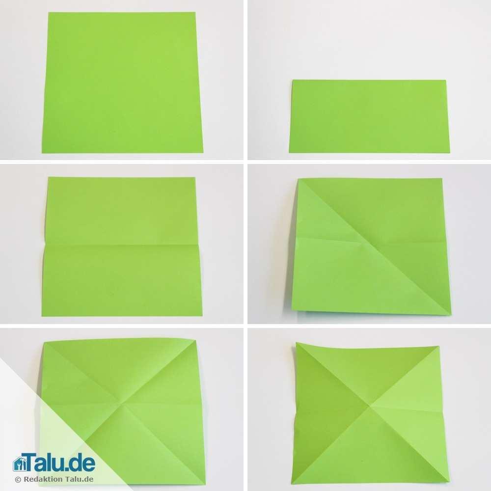 Origami Wurfel Falten Einfache Anleitung Zum Basteln Talu De
