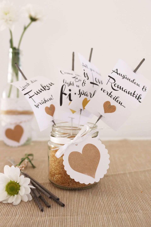 Anhanger Fur Wunderkerzen Zum Runterladen Wunderkerzen Hochzeit Wunderkerzen Geschenk Hochzeit