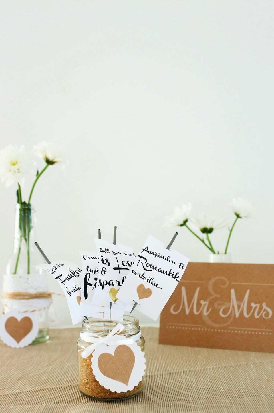 Anhanger Fur Wunderkerzen Zum Runterladen Wunderkerzen Wunderkerzen Hochzeit Kerzen