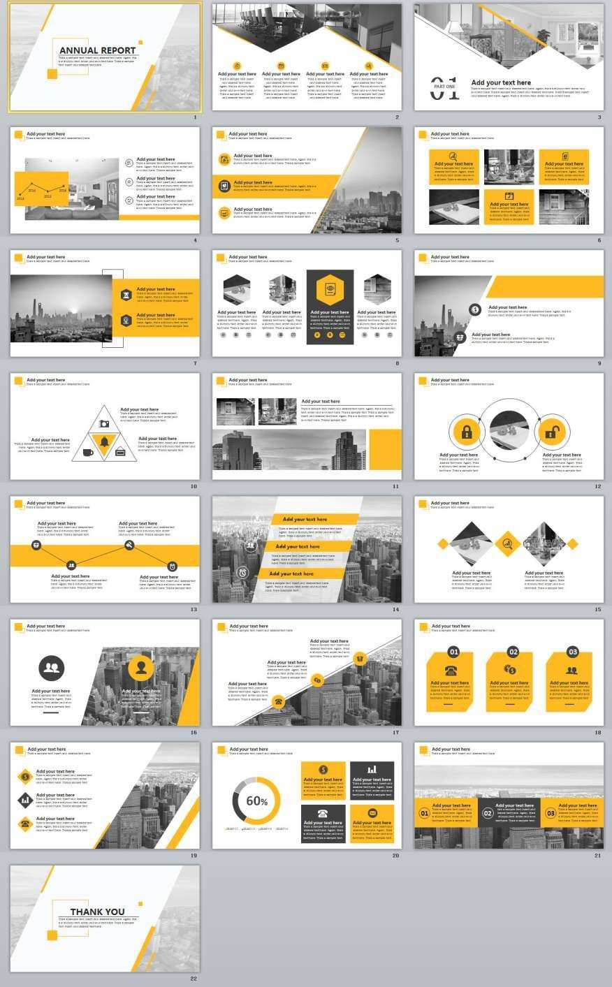 22 Best Annual Report Powerpoint Template Powerpoint Design Templates Powerpoint Presentation Design Presentation Design