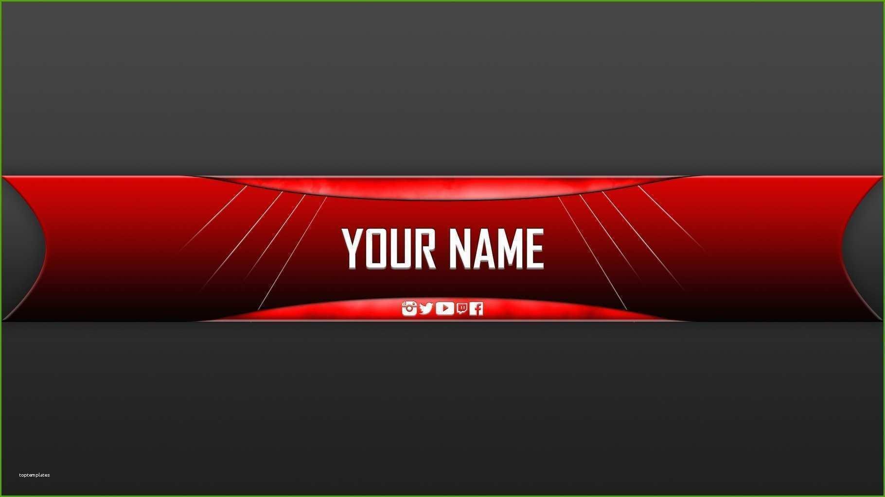 Youtube Kanalbanner Vorlage Gute Youtube Gaming Banner Template Banner Ideen Banner Template Banner
