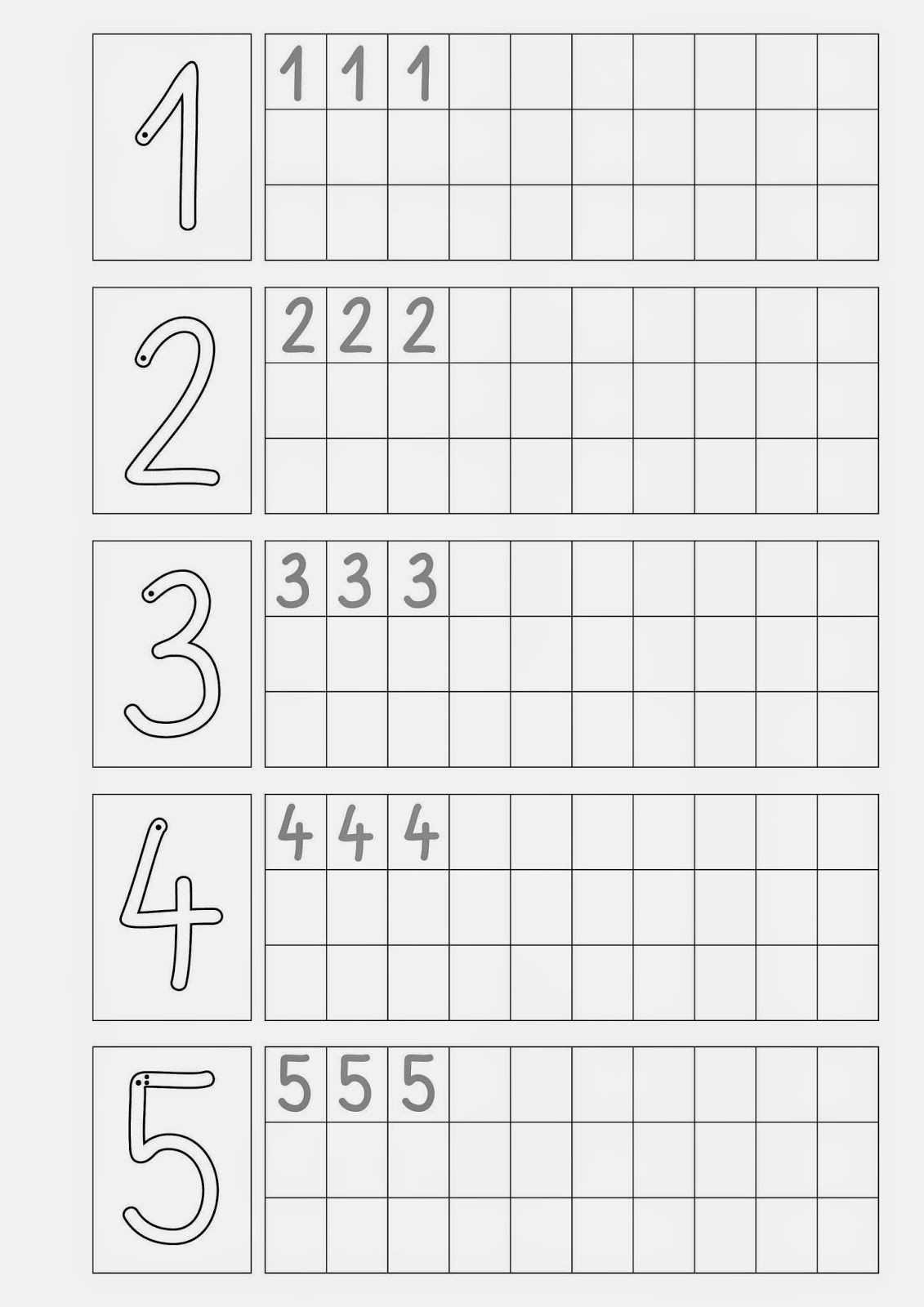Ziffern Schreiben Zahlen Lernen Vorschule Vorschule Zahlen Schreiben Lernen