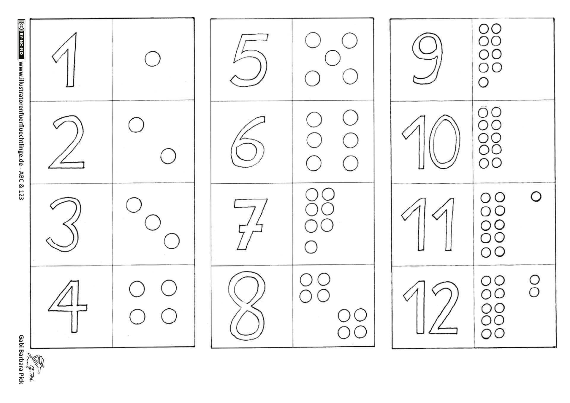Download Als Pdf Abc Und 123 Zahlen Memo Spiel 2 Seiten Pick Buchstaben Spiele Buchstaben Lernen Zahlen Schreiben Lernen
