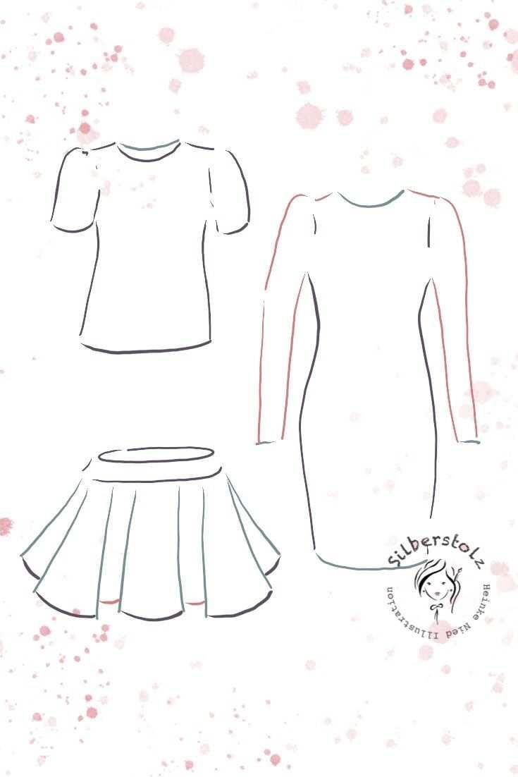 Einfache Basic Kleidung Zeichnen Lernen Zeichenvorlage Kleidung Anleitung Fur Fashion Kleidung Zeichnen Zei Kleidung Zeichnen Kleider Zeichnen Grundkleidung