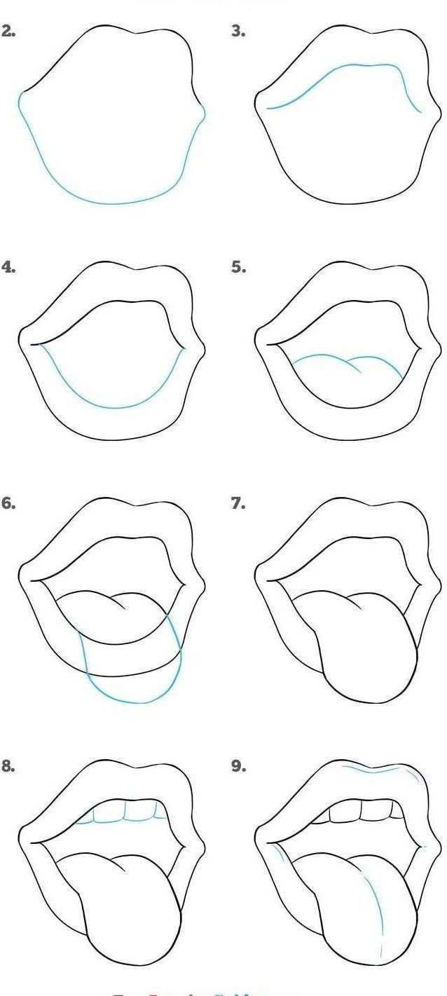 20 Einfache Malanleitungen Fur Anfanger Coole Sachen Zum Schrittweisen Zeichnen Anfanger Drawing Tutorial Easy Cute Easy Drawings Art Drawings Simple