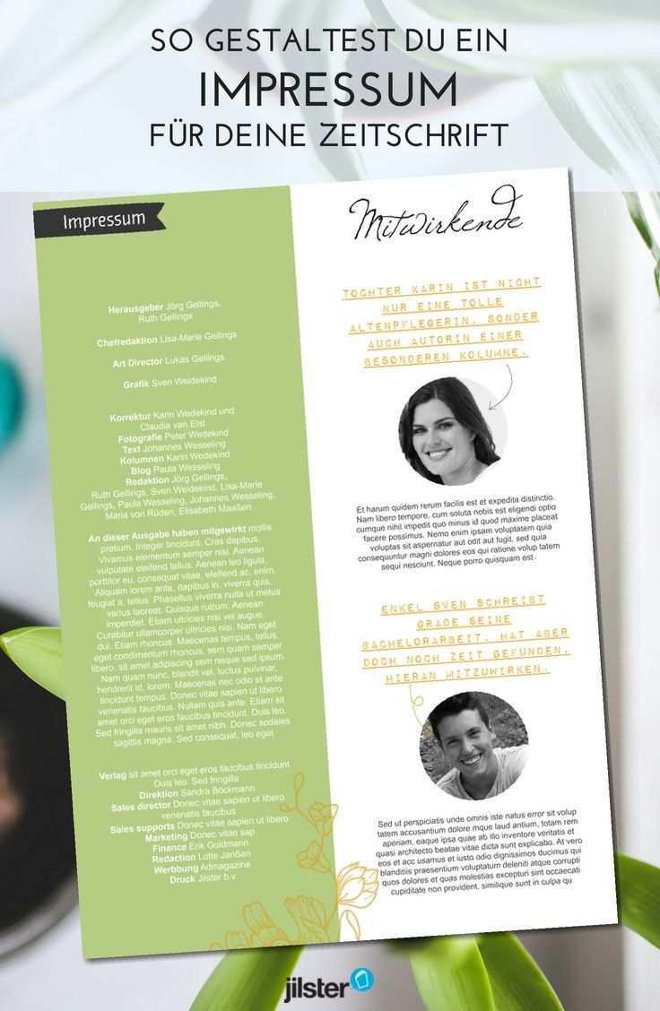 Braucht Meine Zeitschrift Ein Impressum Jilster Blog Zeitschriften Zeitung Hochzeitszeitung