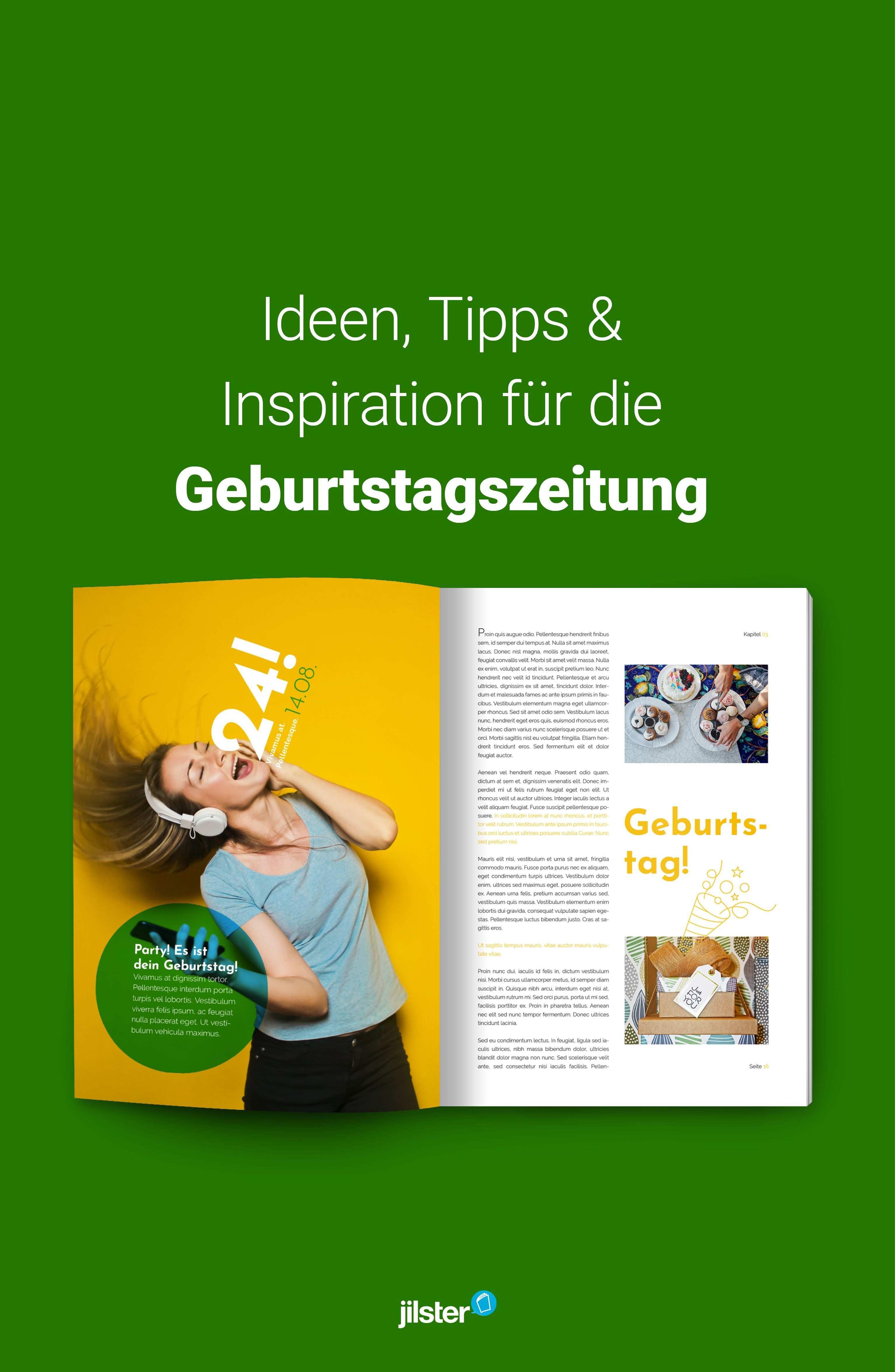 Geburtstagszeitung Ideen Vorlagen Inspiration Jilster Geburtstagszeitung Zeitung Ideen