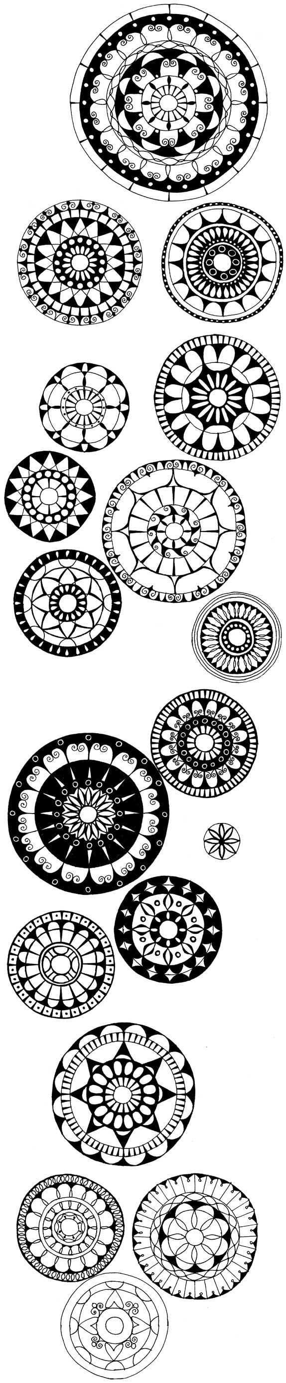 Some Amazing Doodles Maybe Print Them Out As Coloring Pages To Pass The Time Mit Bildern Mandalas Zum Ausmalen
