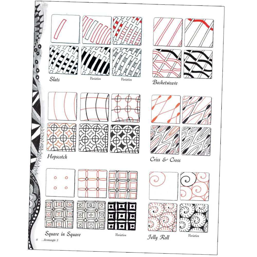 Zentangle Books Designs And Ideas Jerrysartarama Com Zentangle Patterns Zentangle Designs Tangle Patterns
