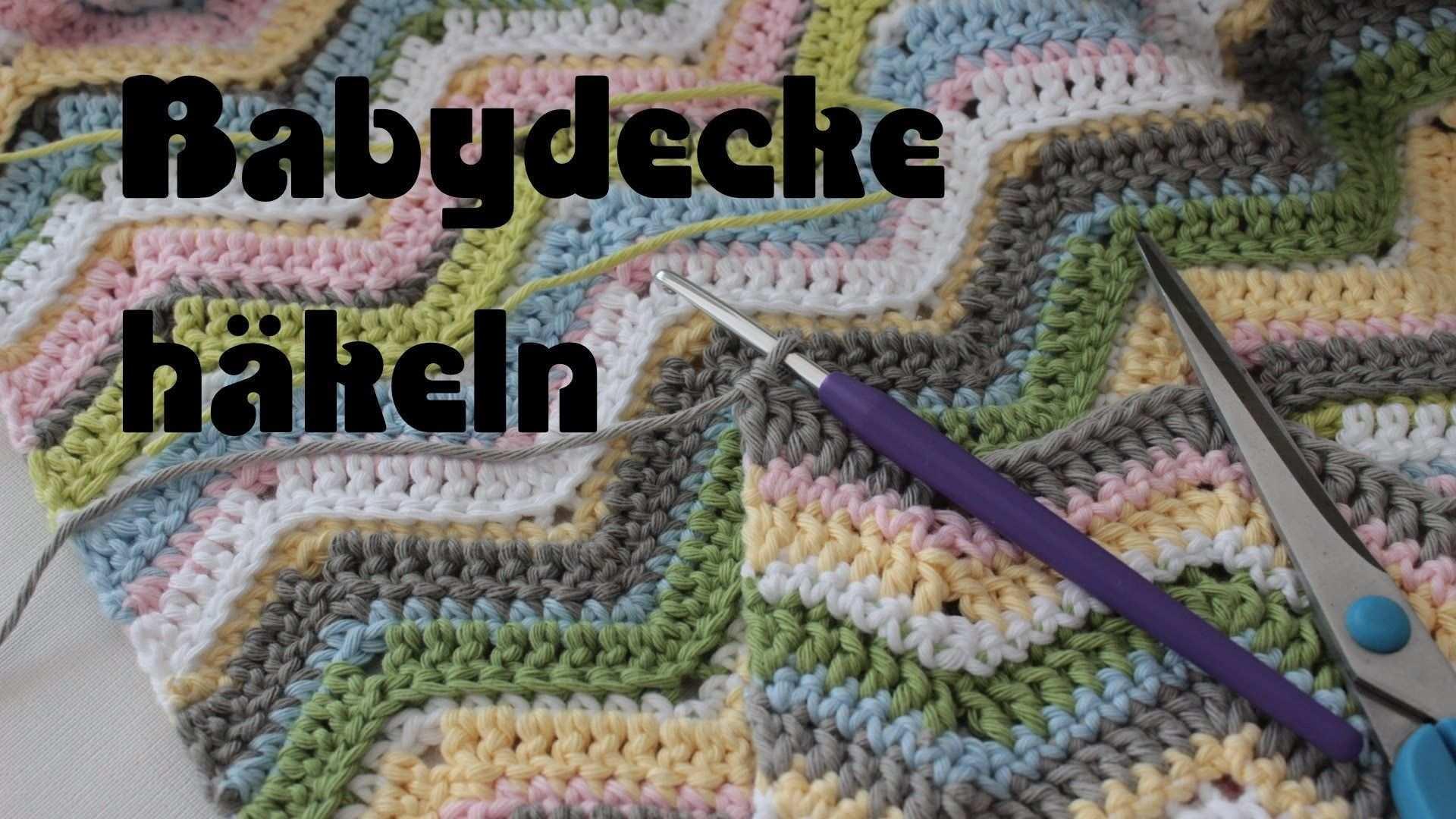 Babydecke Hakeln Zick Zack Zig Zag Crochet Baby Blanket Babydecke Hakeln Babydecke Hakeln Furs Baby