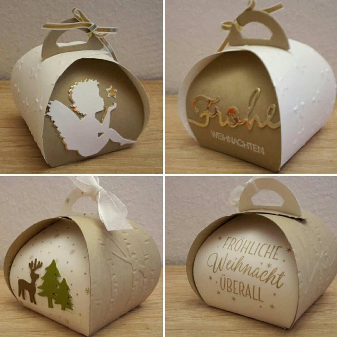 Weihnachtliche Zierschachtel Basteln Weihnachten Verpackung Weihnachten Geschenkkartons